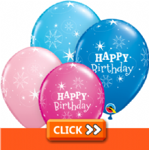 Birthday Latex Balloons - General